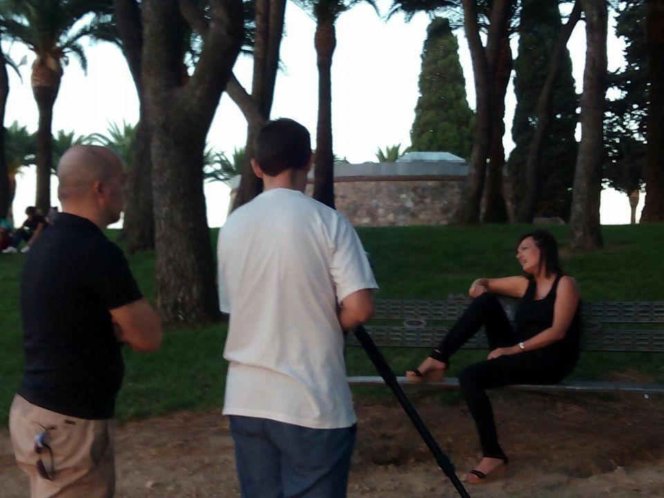 Grabaci�n de videoclip con Amadeus-IN