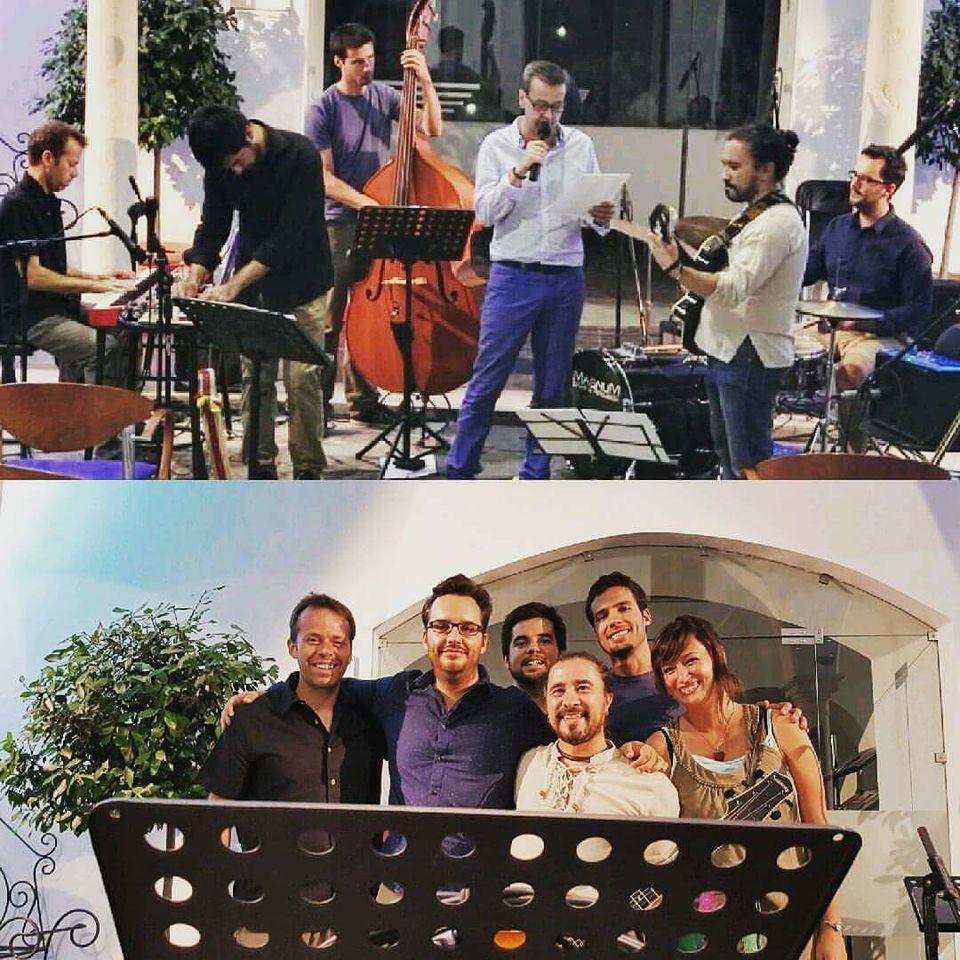 Colaboraci�n con Javier Alc�ntara y su Short Stories Band en la Noche en Blanco de Badajoz