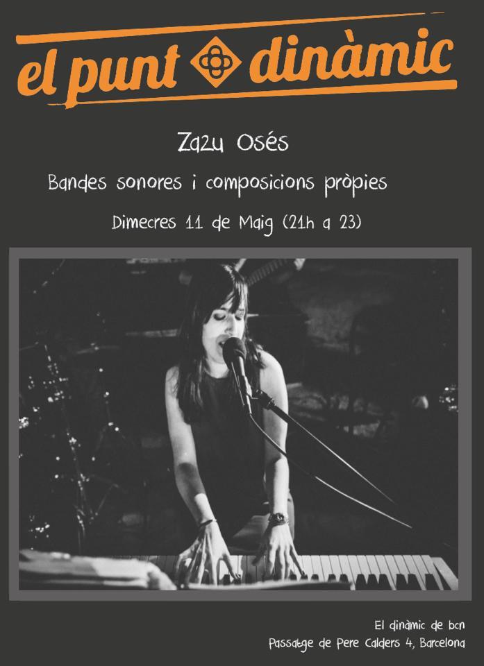 Zazu Os�s en concierto en Din�mic, Barcelona