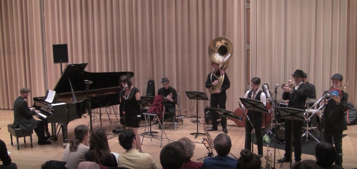 Concierto final de Barcelona Jazz Master (ESMUC)