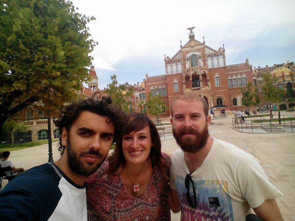 Grabaci�n de videoclip de Singing about Love en Hospital de Sant Pau con Calle Sonora